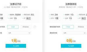 网站空间/服务器购买最新优惠,虚拟主机服务器推荐